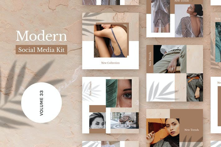 Thumbnail for Modern Social Media Kit (Vol. 32)