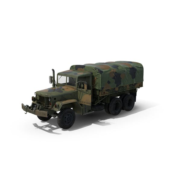 Военный полутоннажный грузовик