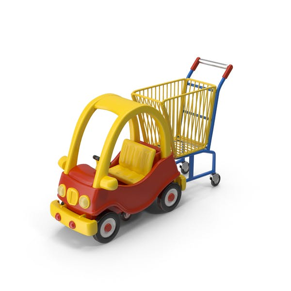 Cover Image for Child-Friendly Shopping Cart