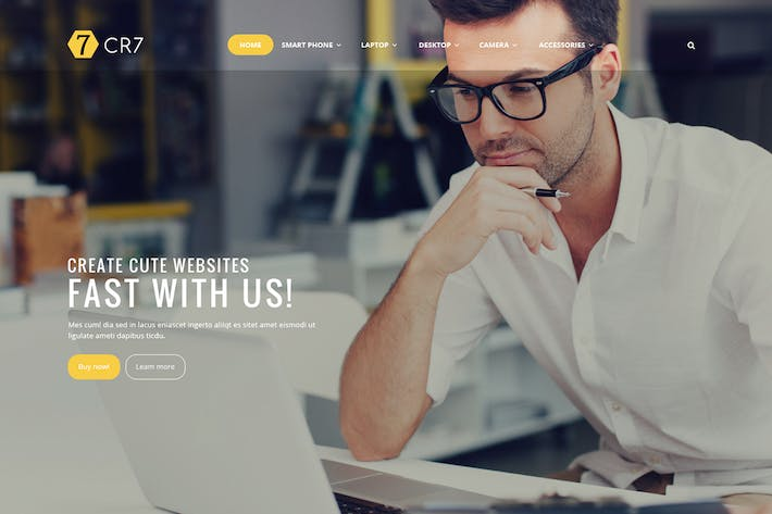Thumbnail for Shop CR7 - Magento Theme