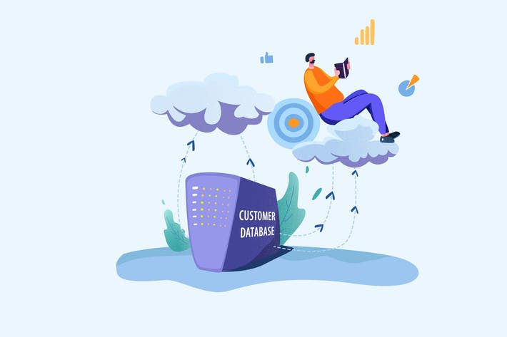Thumbnail for Cloud Storage Services - Vector Illustration