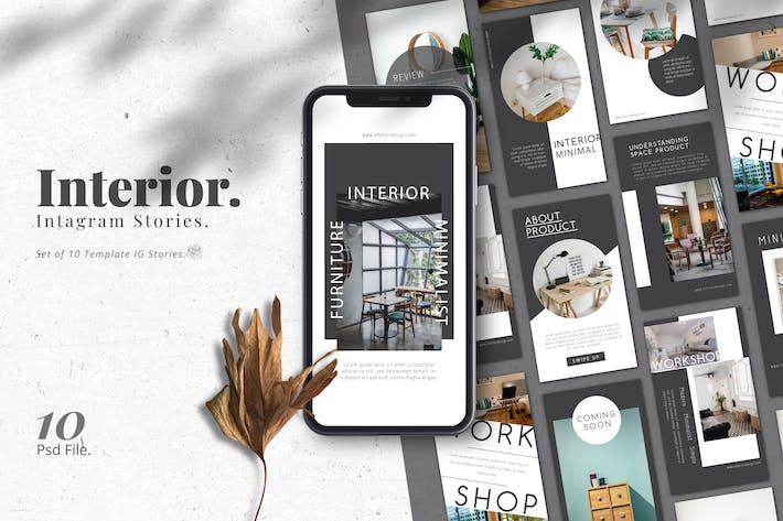 Thumbnail for Interior Promotion IG Stories Template