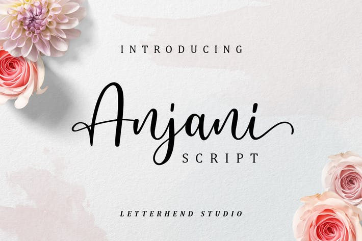 Thumbnail for Anjani Script Modern Calligraphy