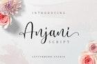 Anjani Script Modern Calligraphy