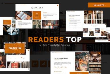 Readers Top  - Keynote Template