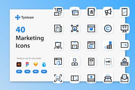 Tynicon - Marketing-Symbole