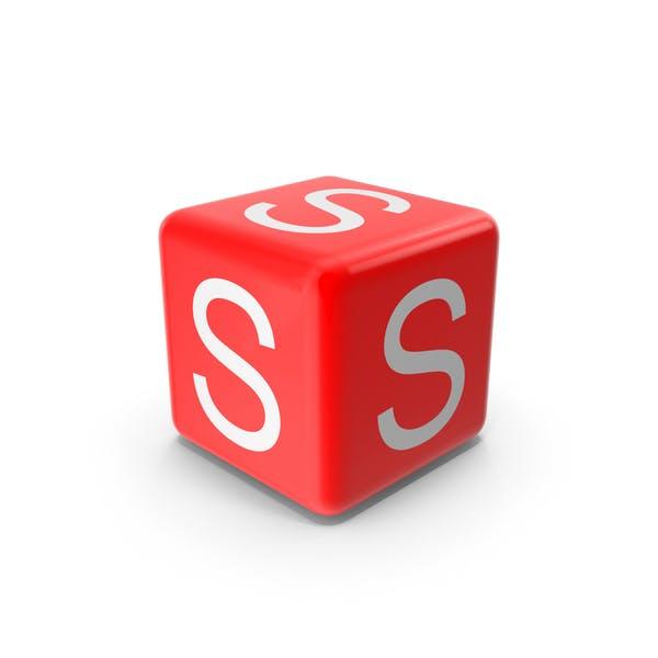 Красный S блок