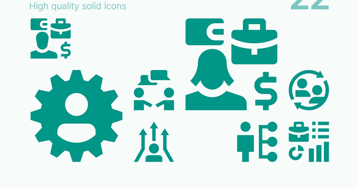 Download HR. Employee Icons by polshindanil