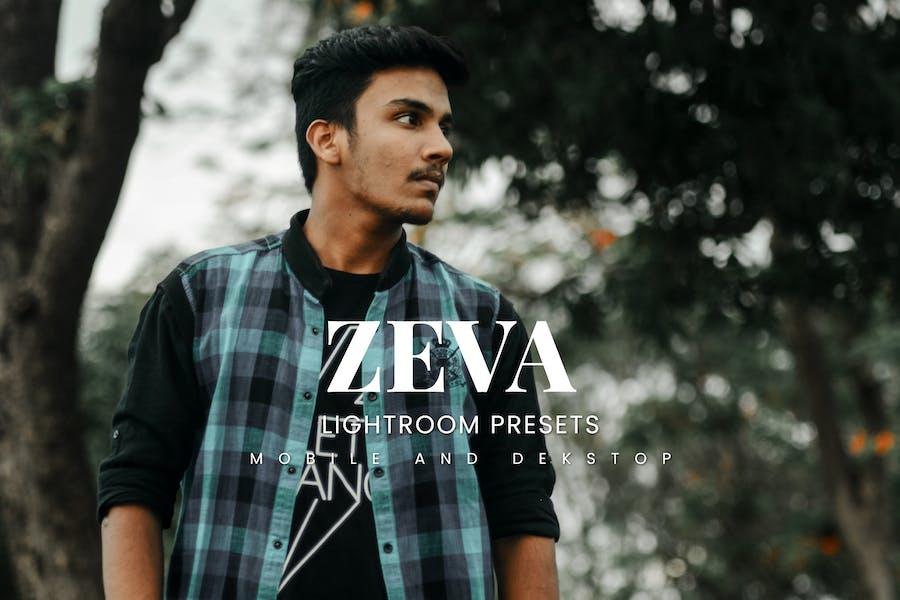 Zeva Lightroom Presets Dekstop and Mobile