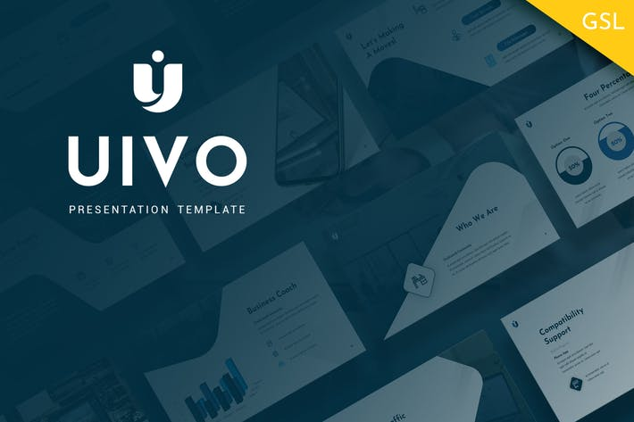 Thumbnail for Uivo - Working Google Slides Template
