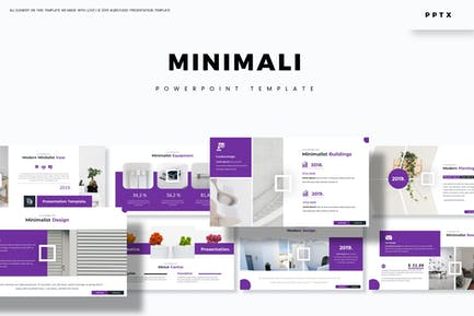 Minimali - Powerpoint-Vorlage