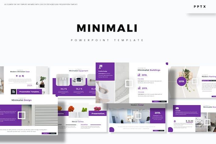 Minimali - Powerpoint Template