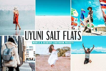 Uyuni Salt Flats Pro Lightroom Presets Pack