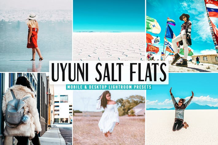 Thumbnail for Uyuni Salt Flats Pro Lightroom Presets Pack
