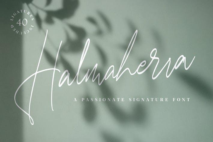 Thumbnail for Halmaherra Signatur