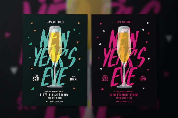 Thumbnail for New Year Flyer