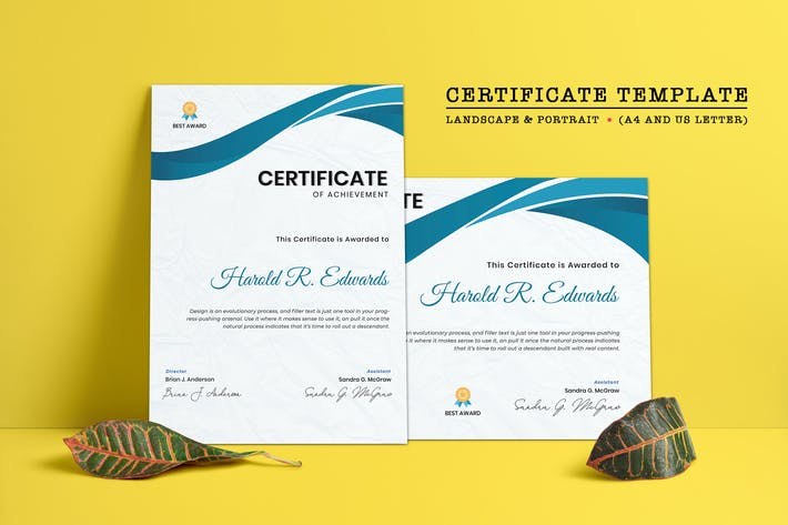 Thumbnail for Certificate Template-06