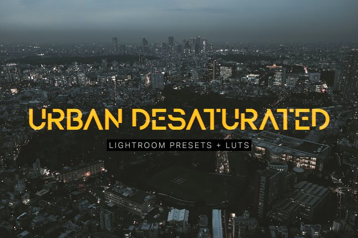 Thumbnail for Urban Desaturated Lightroom Presets and LUTs