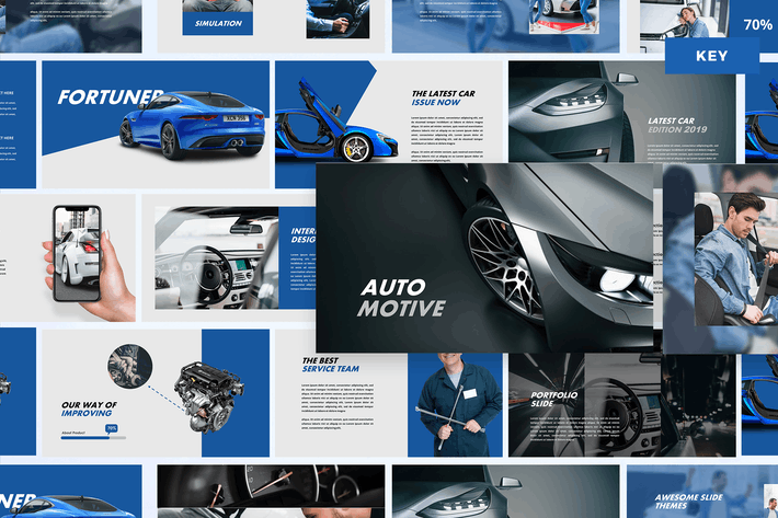 Thumbnail for Automotive - KeynoteTemplate