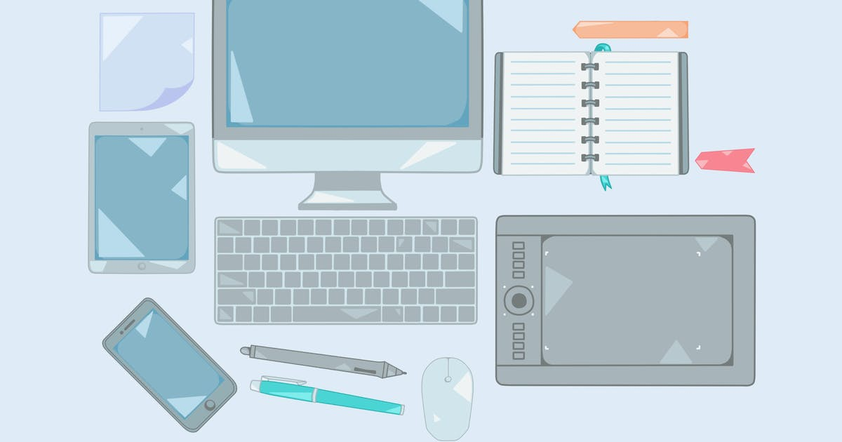 Download Office Devices Clipart by Jumsoft