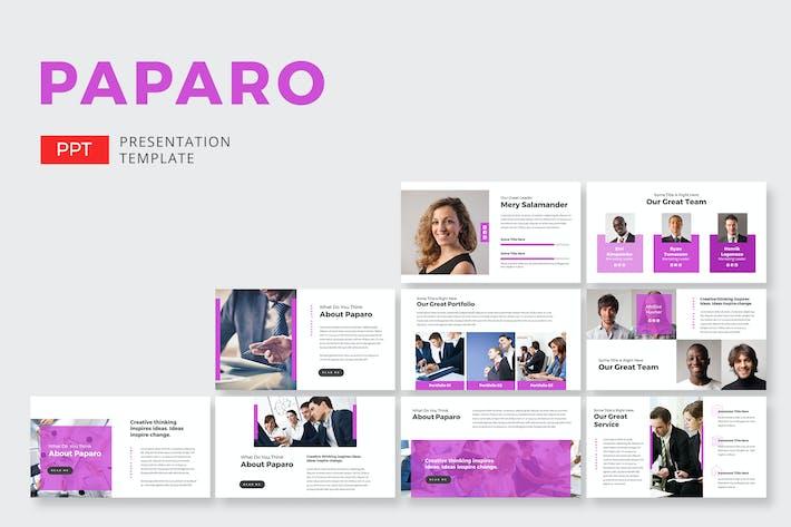 Thumbnail for Paparo Marketing - Powerpoint