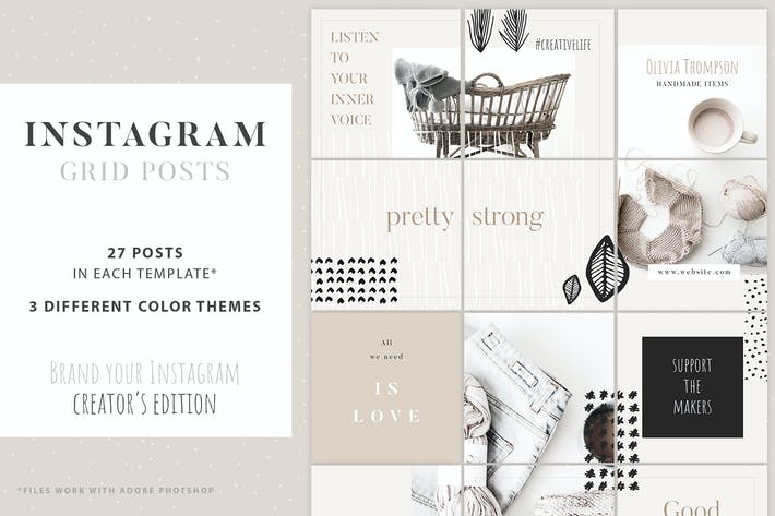 Thumbnail for Instagram Grid Posts - Creator