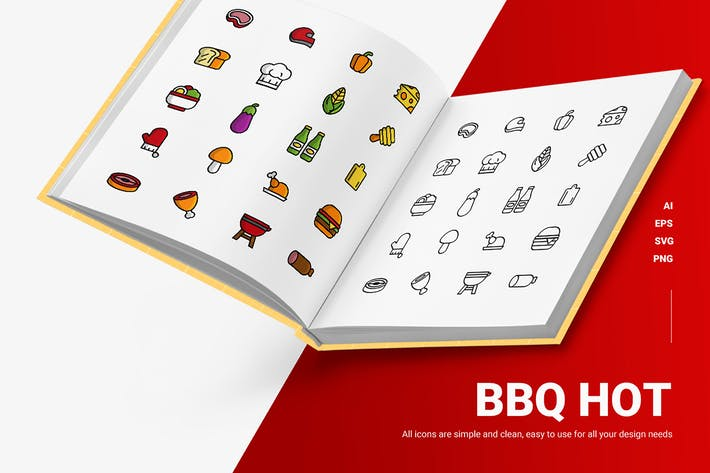 Bbq Hot - Icons