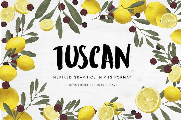 Thumbnail for Toskanisch inspirierte Grafiken