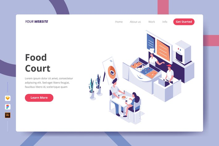 Thumbnail for Food Court - Landing Page