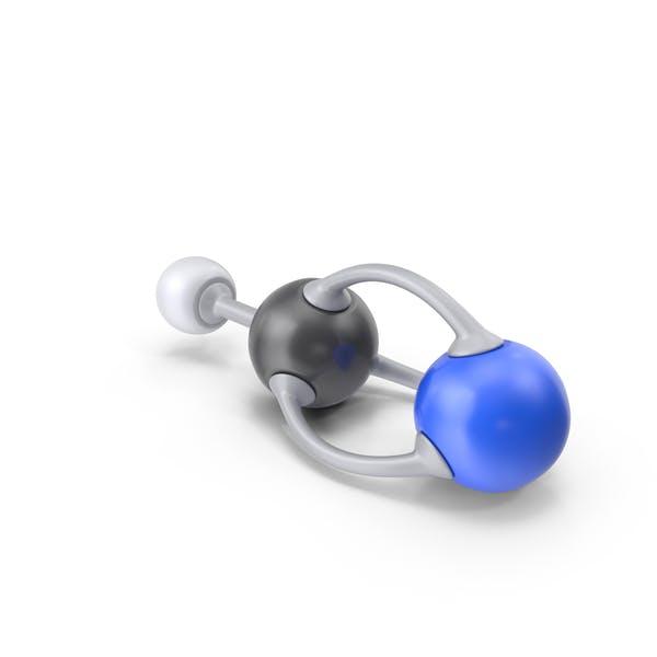 Thumbnail for Hydrogen Cyanide Molecule