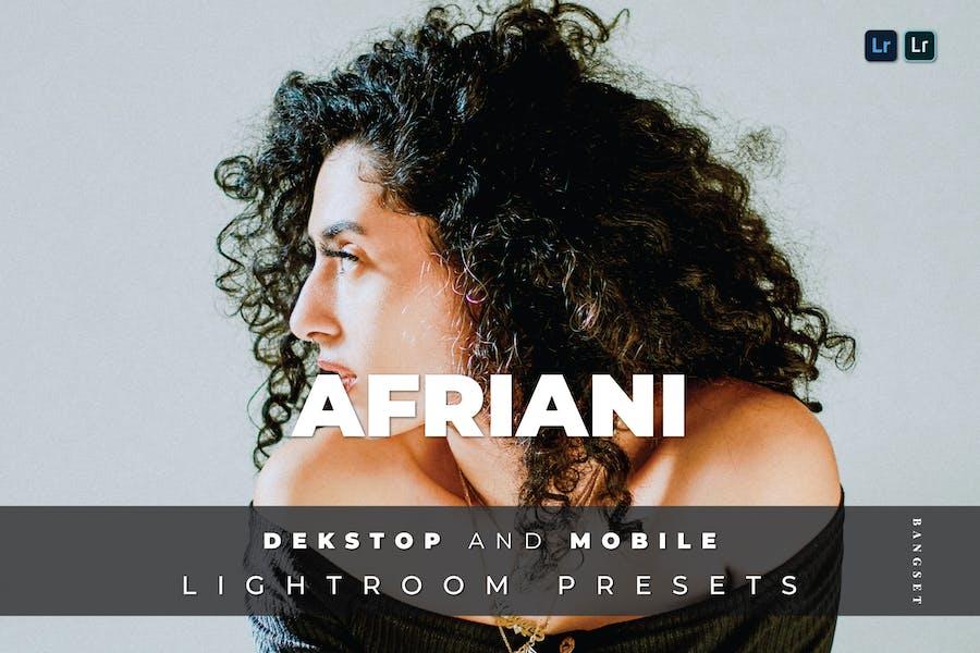 Afriani Desktop and Mobile Lightroom Preset
