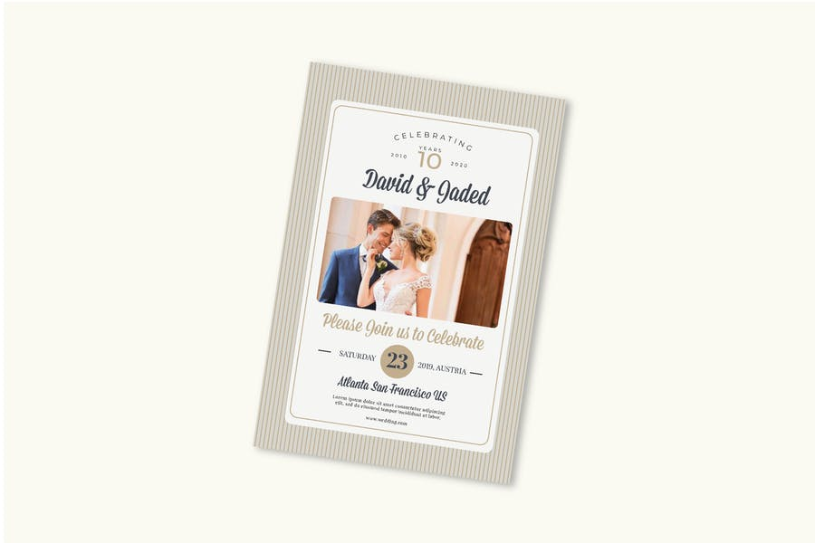 Wedding Anniversary Post Card