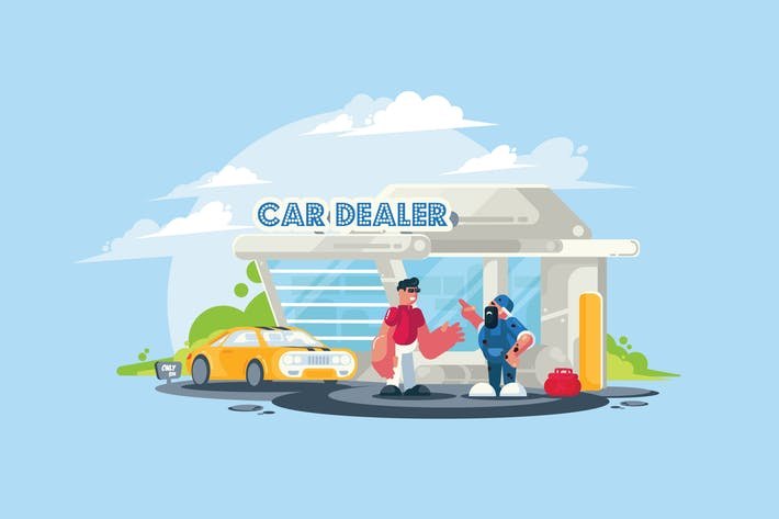 Thumbnail for Car Dealer - Vector Activity
