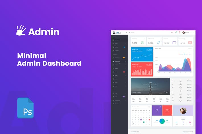 Thumbnail for highFive Admin - Dashboard