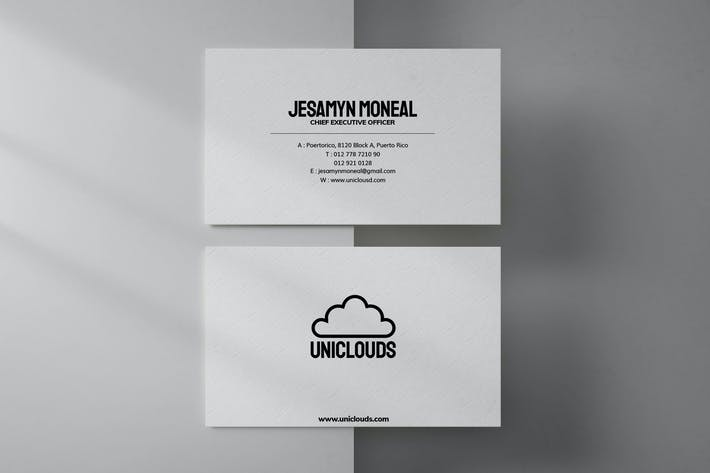 Clean Business Card 7