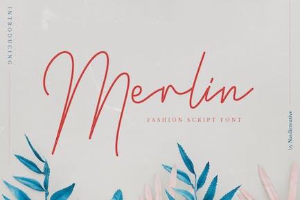 Merlín - Elegante guión de moda