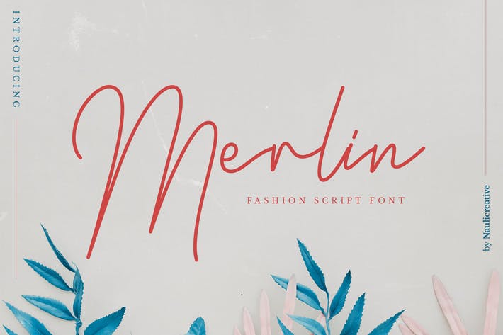 Merlin - Elegant Fashion Script