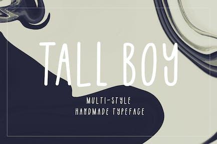 Tall Boy   Handwriting Font