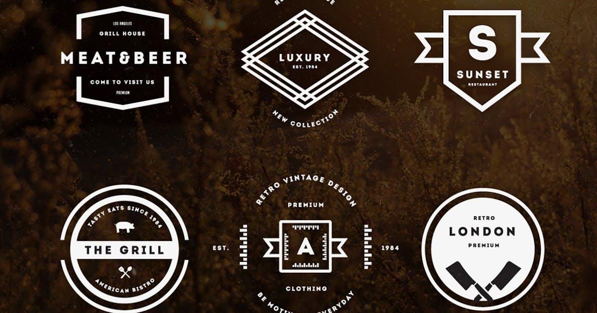 Download Vintage Logos & Badges Vol 23 by designdistrictmx