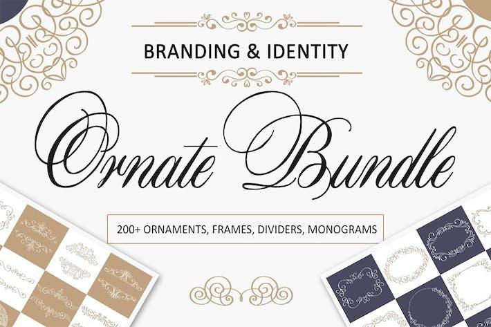 Thumbnail for Ornate Bundle. Branding and Logos