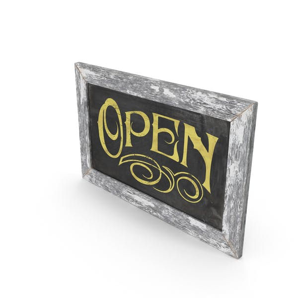 Thumbnail for Vintage Open Sign