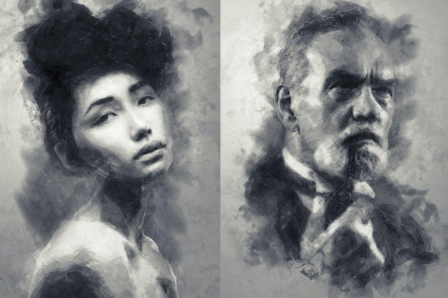 Digital Sketch Photoshop Action