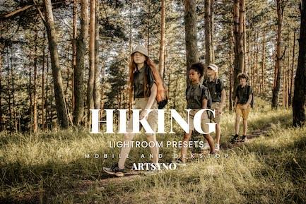 Hiking Lightroom Presets Dekstop and Mobile