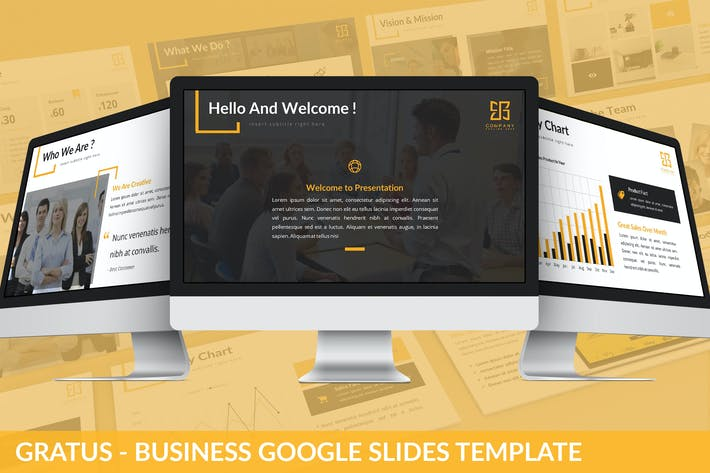 Thumbnail for Gratus - Business Google Slides Template