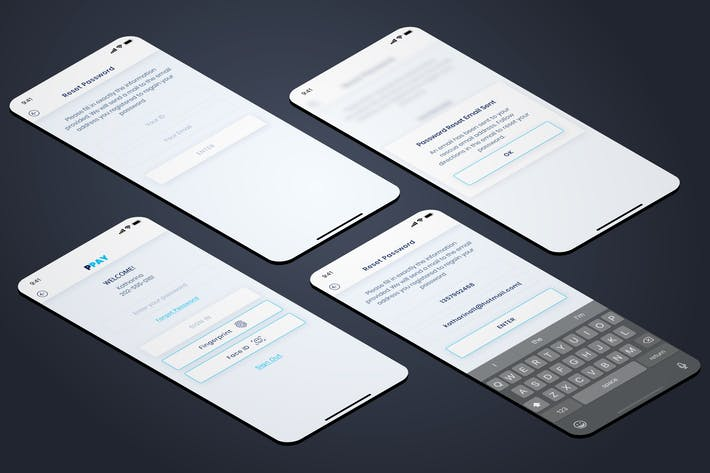 Thumbnail for Passwort vergessen - Wallet Mobile UI - FP