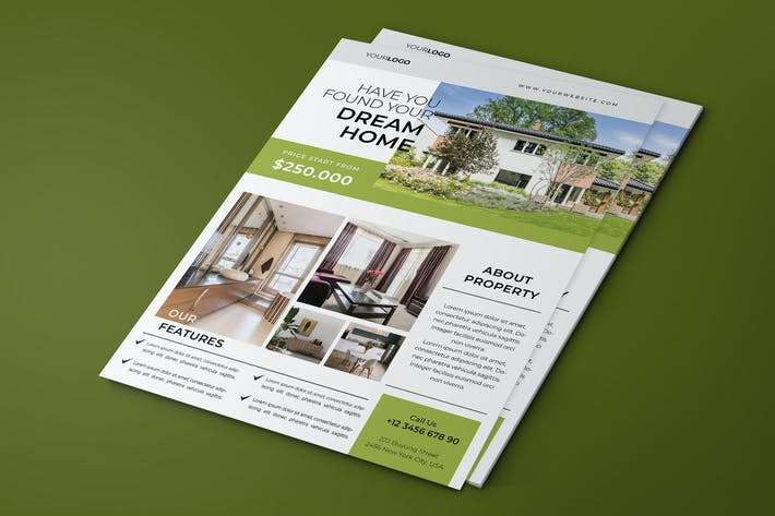 Thumbnail for Properties Flyer Template