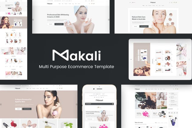 Makali - Cosmetics & Beauty Theme for WooCommerce