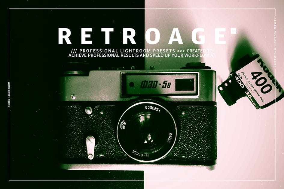 Download Retro Age Lightroom Presets by GOICHA