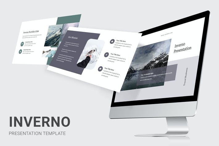 Thumbnail for Inverno - Winter Theme Powerpoint