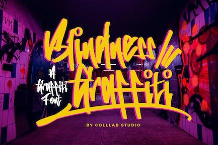 Blindness Graffiti - An Urban Font